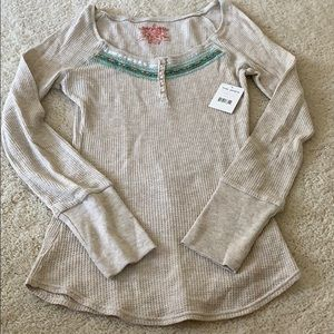 Brand new tags on free people thermal